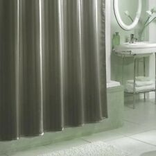 Excell Damask Stripe Fabric Shower Curtain Liner. Shipping Included