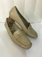 Ara Varese FlexRelax Beige Leather Heel Classic Pump/Stitched Shoes Size 6.5-9.5