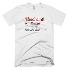 Beechcraft Travel Air Custom Airplane T-shirt- Personalized with N#