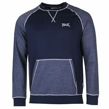 Everlast Marl Crew Neck Sweatshirt Mens Navy Marl Pullover Sweater Jumper