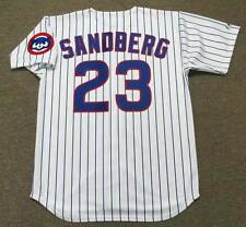 RYNE SANDBERG Chicago Cubs 1992 Majestic Throwback Home Baseball Jersey