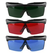 Protection Goggles Safety Glasses Green Blue Red Eye Spectacle Protective New DP
