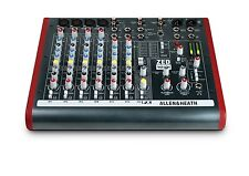 Allen & Heath ZED-10FX Four Mono Mic/Lines with 2 Active D.I., 3 Stereo Line Inp