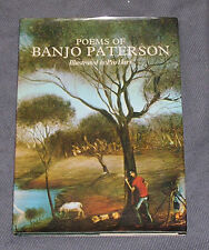 4x Poems of Banjo Paterson (Illustrated by Pro Hart) Vol1-2, Henry Lawson Vol1-2