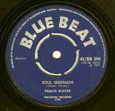PRINCE BUSTER - Soul Serenade / Too Hot - Blue Beat 7