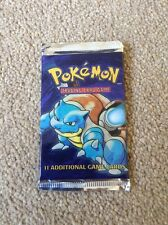 Pokemon Base Set 1 Booster Pack Opened