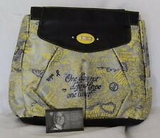 "NEW Miche Prima Big Bag SHELL, ""Hope Yellow"", Fight Cancer Faux Leather, NIP"