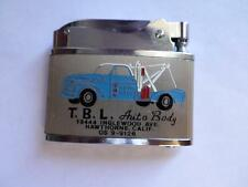 VINTAGE 1950s BARLOW LIGHTER B-53 Flat Advertising Tow Truck Auto Body Unused