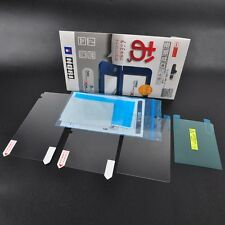 Top Tempered Glass*Bottom Clear Screen Protector LCD Film for Nintendo 3DS LL/XL