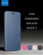 Xlevel Fiber Flip Stand Synthetic Leather Case Cover For Samsung Galaxy Note 7
