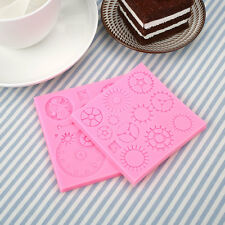 Punk Designed Cake Chocolate Cookies Bread Decorating Baking Mould Tool