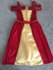 Belle Beauty and the Beast Dress Dressing-Up Fancy Dress Costume 5-6 Years