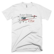 Flight Design CTSW Custom Airplane T-shirt- Personalized with N#