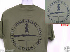 MOSIN NAGANT T-SHIRT/ NEW/ MILITARY/ 7.62 X 54r /   NEW