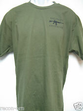 PRIVATE MILITARY CONTRACTOR T-SHIRT/ SILK SCREEN PRINT ON FRONT ONLY/ NEW