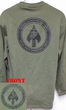 USMC MARSOC LONG SLEEVE T-SHIRT/ MILITARY/ THICK/ USMC RECON/ SPECIAL FORCES