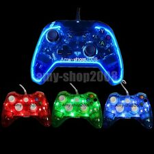 For Xbox One/ Xbox 360 Glow Light USB Wired Gamepad Game Consoles Controller