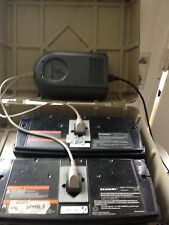 Segway I2  X2 xt  gen 1 Off Board Battery Charger  2 used batteries good