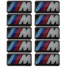 10 x emblem 3D for bmw M M1 M3 M5 M6 and other