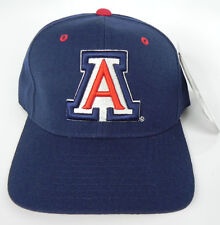 ARIZONA WILDCATS NAVY NCAA VINTAGE FITTED SIZED ZEPHYR DH CAP HAT NWT! DEADSTOCK