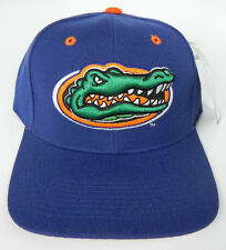 FLORIDA GATORS ROYAL NCAA VINTAGE FITTED SIZED ZEPHYR DH CAP HAT NWT!
