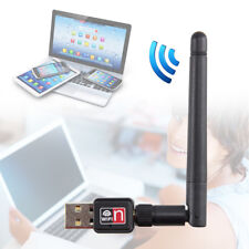 MINI USB 150M 150Mbps Wireless LAN Adapter 802.11b/n/g WiFi 2dBi Antenna HOT PD