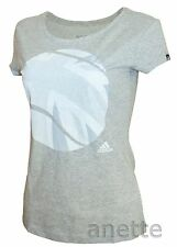 ADIDAS LONDON TENNIS Ladies T-Shirt Union Jack UK Flag Ball Graphic Clima BNWT