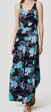 Ann Taylor LOFT Floral Tiered Maxi Dress Various Sizes NWT Fresh Navy Color
