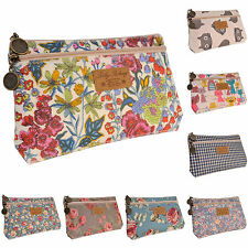 Ladies Coin Phone Purse Card Holder Clutch Wallet Double Zip Key Pouch Bag Cases