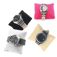 Linen Bracelet Bangle Watch Pillow Holder For Jewelry Display Case Box  DP