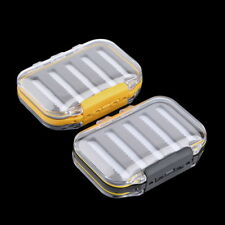 BEST Double Side Waterproof Pocket Fly Fishing Box Slid Foam Insert 170 Flies DP