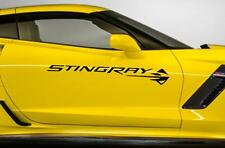 "NEW STINGRAY Decal also in Carbon Fiber Chevrolet 37.5"" (Fits Chevy CORVETTE C7)"