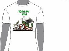 KOOLART EDDIE STOBART PERSONALISED NAME T-SHIRT GIFT CHRISTMAS PRESENT DESIGN 3