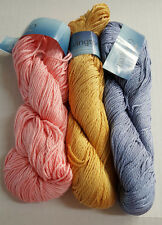 "Plymouth Yarn ""Covington""~100% Mercerized Cotton~Worsted~GREAT YARDAGE & VALUE"
