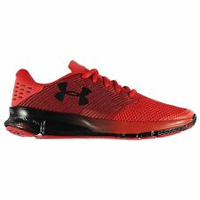 Under Armour Charged Reckless Running Shoes Mens Red/Black Trainers Sneakers