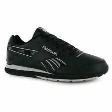 Reebok Glide Performance Trainers Mens Black/Grey Casual Sneakers Shoes Footwear