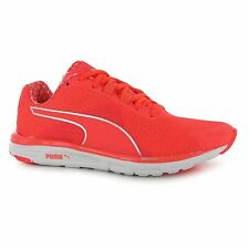Puma Faas 500 V4 Running Shoes Womens Orange Run Fitness Trainers Sneakers
