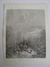 Dante's Purgatory by Gustave Dore Antique Print C. 1880 (4)