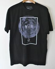 NWOT Young & Reckless Hypnotic Logo Graphic T-Shirt Black size M-L