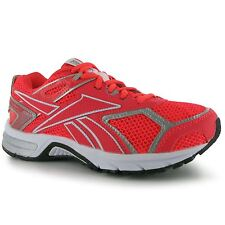 Reebok Pheehan Run3 Running Shoes Womens Neon Cherry/Silver Trainers Sneakers