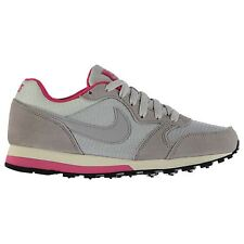 Nike MD Runner Trainers Womens Platinum/Grey/Pink Casual Sneakers Shoes