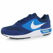 Nike Nightgazer Trainers Mens Blue/White Casual Sneakers Shoes Footwear
