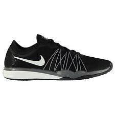 Nike Dual Fusion TR HIT Running Shoes Womens Black/White Run Trainers Sneakers