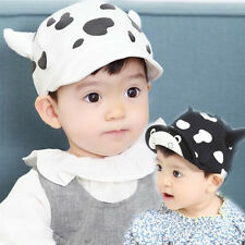 1pcs Cute Milk Baseball Hat Infant Toddler New Child Baby Beret Sun Cap Cotton