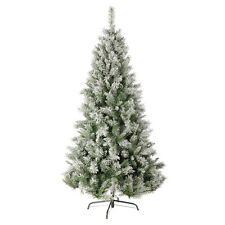 Flocked Snow Artificial Christmas Tree - Variation of Sizes