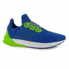 Adidas Falcon Elite 5 Running Shoes Mens Blue/Slime/White Trainers Sneakers