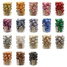 Assorted Shatterproof Baubles Box of 34