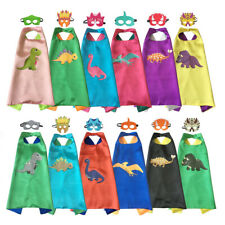 Dinosaur Costume Capes with masks for kids birthday party - Dress Up Costume