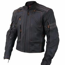 Motorcycle Racing Jacket Motorbike/Biker JACKET CE Armour Men Leather JACKET