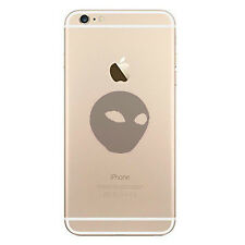 Alien Head Vinyl Sticker Decal for Apple Macbook Air Pro Cell phone Trackpad